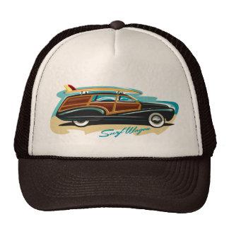 Carro Woody de la resaca Gorras De Camionero