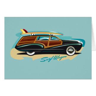 Carro Woody de la resaca Tarjeta De Felicitación