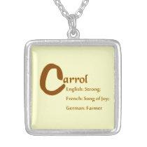 Carrol Necklace