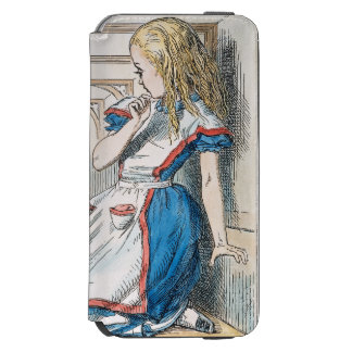 Carroll: Alicia, 1865 Funda Billetera Para iPhone 6 Watson