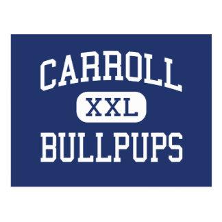 Carroll - Bullpups - Junior - Monroe Louisiana Postcard