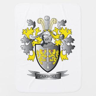 Carroll Coat of Arms Stroller Blanket
