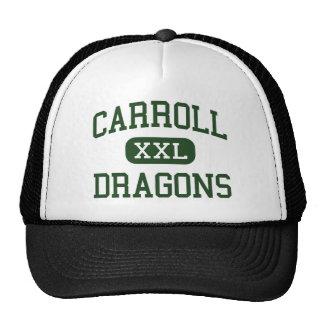 Carroll - DRAGONES - mayor - Southlake Tejas Gorros Bordados