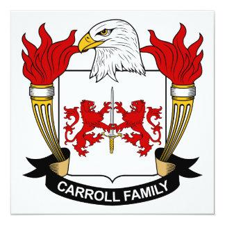 Carroll Family Crest Card