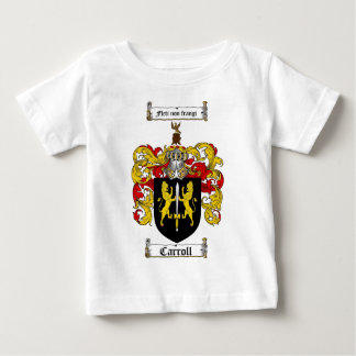 CARROLL FAMILY CREST -  CARROLL COAT OF ARMS BABY T-Shirt