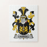 Carroll Family Crest Puzzles