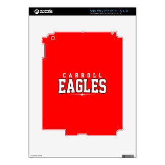 Carroll High School; Eagles iPad 3 Decal