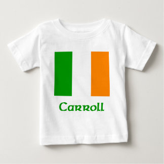 Carroll Irish Flag Baby T-Shirt