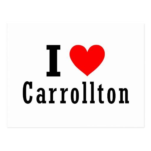 Carrollton, diseño de la ciudad de Alabama Postal