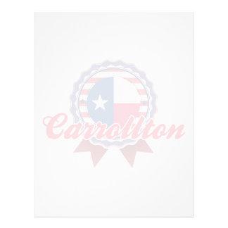 Carrollton, TX Plantillas De Membrete