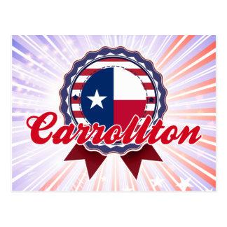 Carrollton, TX Tarjeta Postal
