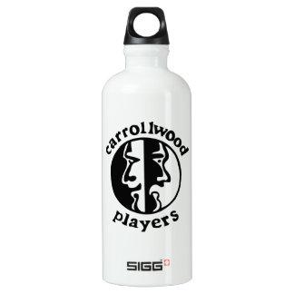 Carrollwood Players Aluminum Water Bottle