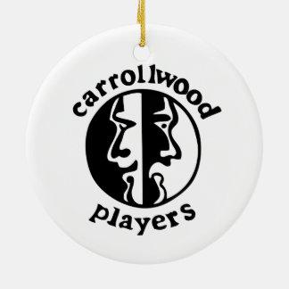 Carrollwood Players Ceramic Ornament