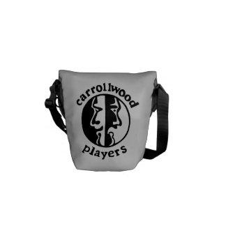 Carrollwood Players Messenger Bag