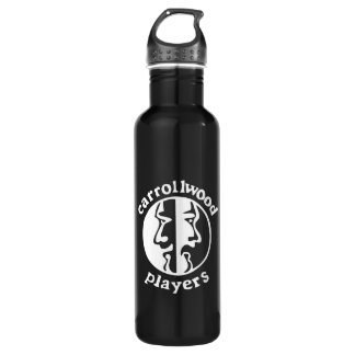 Carrollwood Players Stainless Steel Water Bottle