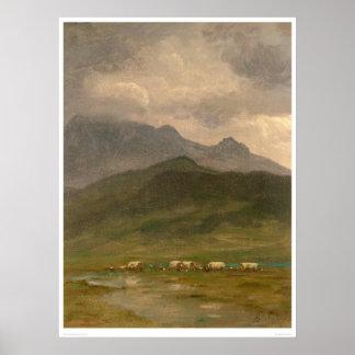 Carros cubiertos por Bierstadt (0101A) Impresiones