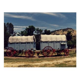 Carros de Conestoga Tarjetas Postales
