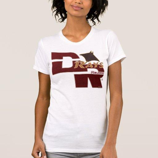 Carros de las mujeres tee shirts