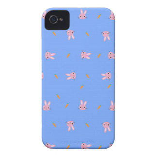 Carrot Bunny Design iPhone 4 Case