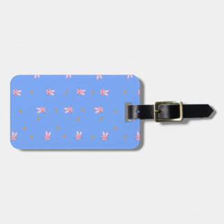 Carrot Bunny Design Luggage Tag