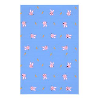 Carrot Bunny Design Stationery