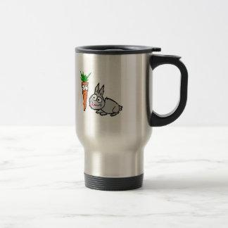 Carrot/Bunny Travelling Mug! Travel Mug