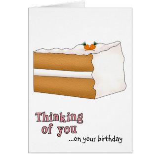 Carrot Cake Birthday Card