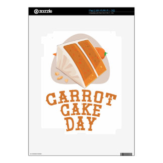 Carrot Cake Day - Appreciation Day iPad 2 Decals