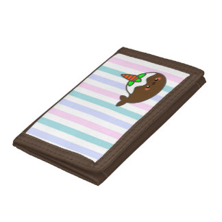 Carrot Cake Narwhal Trifold Wallet