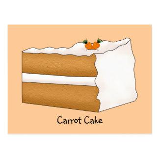 Carrot Cake Recipe Card Postcard
