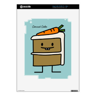 Carrot Cake Decals For iPad 2