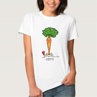 Carrot Cartoon - Veggie shirt