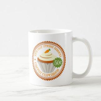 Carrot Cupcake Retro Coffee Mug