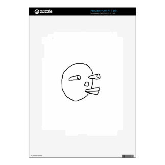Carrot Face.jpg Decals For The iPad 2