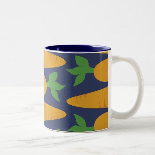 Carrot Garden At Night Coffee Mugs