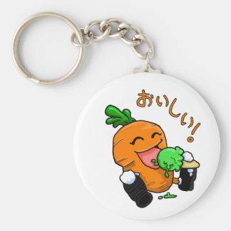 Carrot Icecream keychain