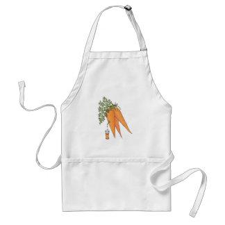 carrot juice adult apron