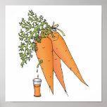 carrot juice poster