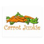 Carrot Junkie Postcard