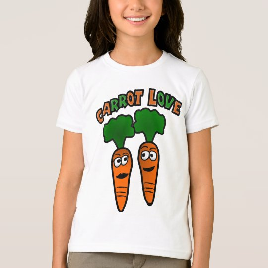 Carrot Love With Two Carrots In Love T-Shirt
