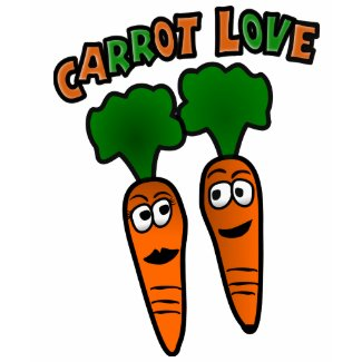 Carrot Love With Two Carrots In Love shirt