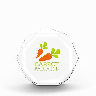 Carrot Patch Kid Acrylic Award