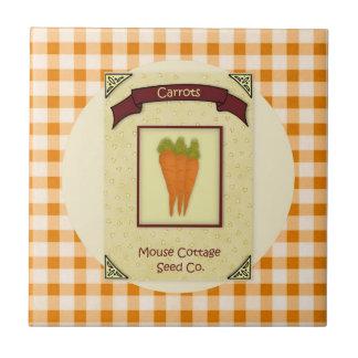 Carrot Seeds Tile
