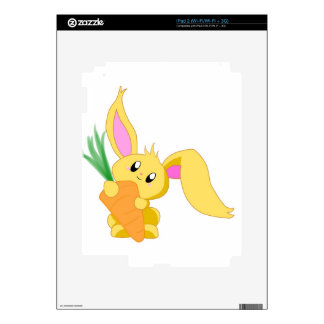 Carrot the Bunny Skins For The iPad 2