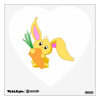 Carrot the Bunny Wall Decal