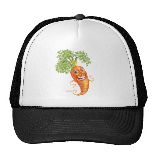 carrot trucker hat