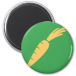 Carrot Vegetable Icon Refrigerator Magnet