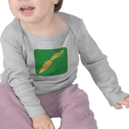 Carrot Vegetable Icon T Shirt