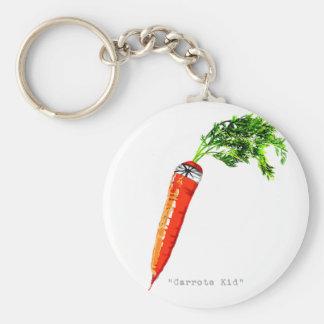 carrote kid-dark keychain