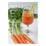 carrotjuice chubby card business cards